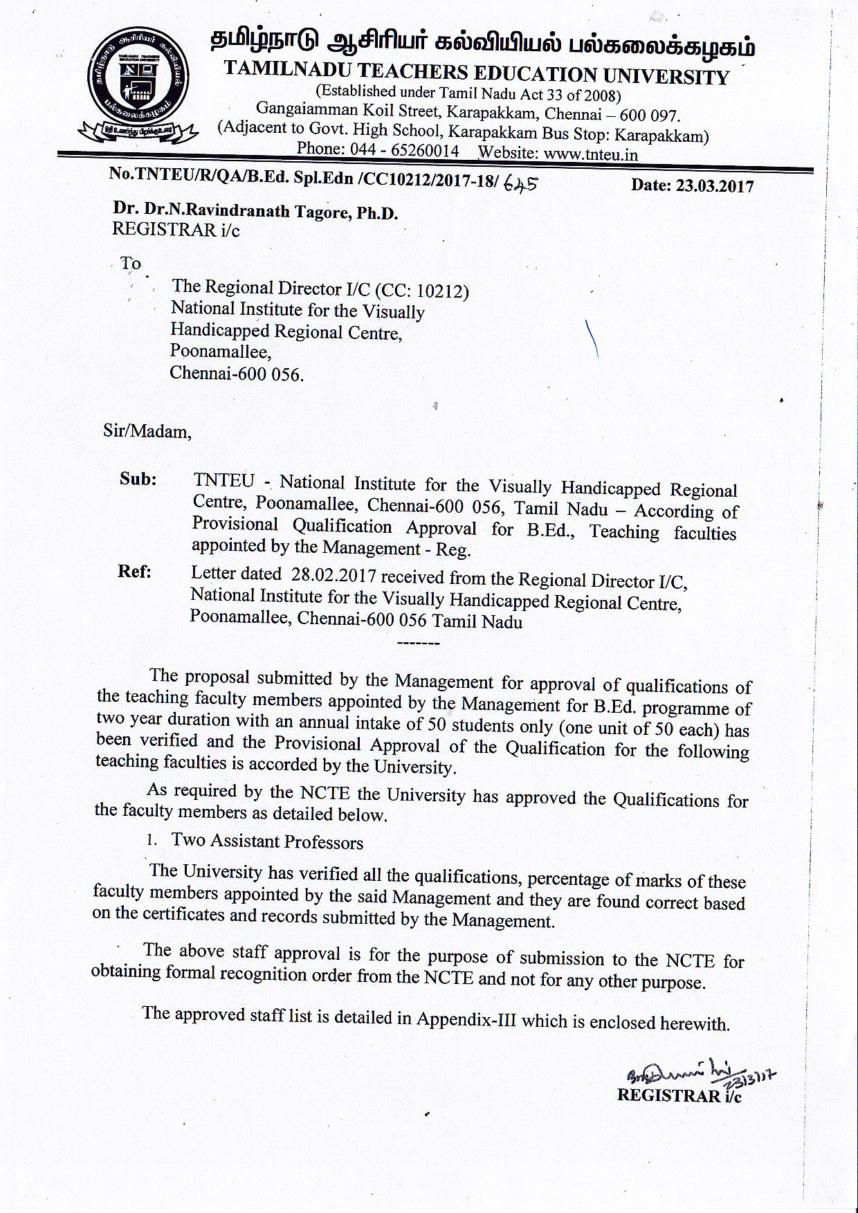 Home national institute for the empowerment of persons with tnteu staff approval order aiddatafo Gallery